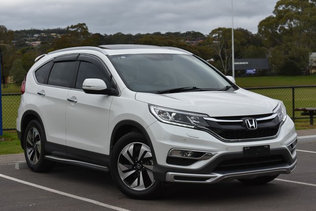 Used Honda CR-V RM Series II MY17 VTi-L, 2016 Honda CR-V RM Series II MY17 VTi-L White 5 Speed Sports Automatic Wagon