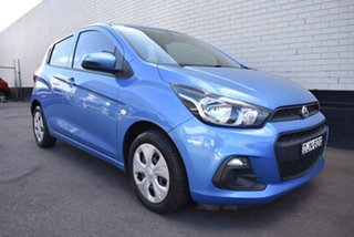 2015 Holden Spark MP MY16 LS Blue 1 Speed Constant Variable Hatchback.