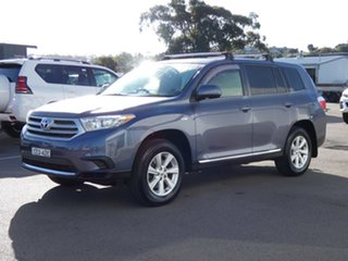2013 Toyota Kluger GSU45R MY12 KX-R AWD Blue 5 Speed Sports Automatic Wagon.