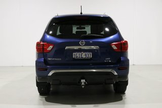 2017 Nissan Pathfinder R52 MY17 Series 2 ST-L (4x4) Blue Continuous Variable Wagon