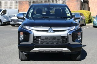 2021 Mitsubishi Triton MR MY21 GLS Double Cab Pitch Black 6 Speed Sports Automatic Utility
