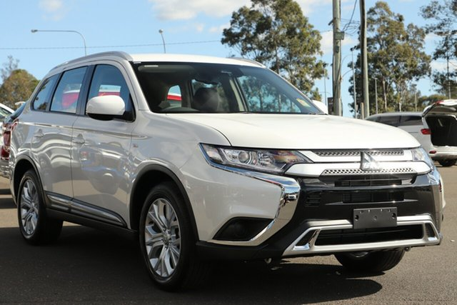 New Mitsubishi Outlander ZL MY21 ES 7 Seat (2WD) Gunnedah, 2021 Mitsubishi Outlander ZL MY21 ES 7 Seat (2WD) Alpine White 6 Speed CVT Auto Sequential Wagon
