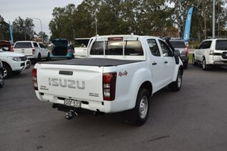 2017 Isuzu D-MAX MY17 SX Crew Cab White 6 Speed Manual Utility