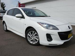 2012 Mazda 3 BL1072 SP20 SKYACTIV-Drive SKYACTIV White 6 Speed Sports Automatic Hatchback.