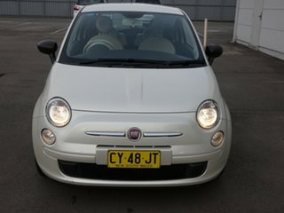 2014 Fiat 500 Series 1 POP White 5 Speed Manual Hatchback.