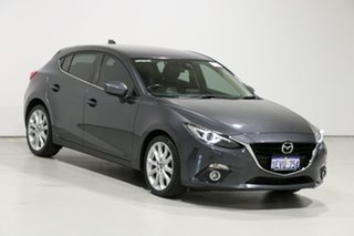 2015 Mazda 3 BM MY15 SP25 GT Safety Grey 6 Speed Automatic Hatchback