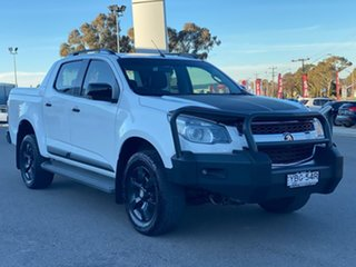 2015 Holden Colorado Z71 White Sports Automatic Dual Cab Utility.