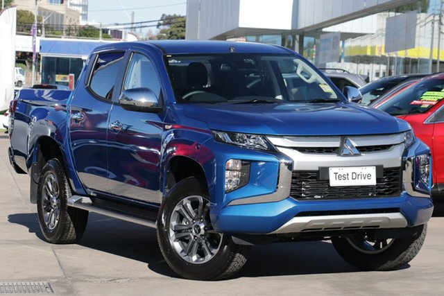 New Mitsubishi Triton MR MY20 GLX-R Double Cab, 2020 Mitsubishi Triton MR MY20 GLX-R Double Cab Impulse Blue 6 Speed Sports Automatic Utility