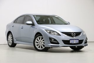2012 Mazda 6 GH MY11 Touring Blue 5 Speed Auto Activematic Sedan.