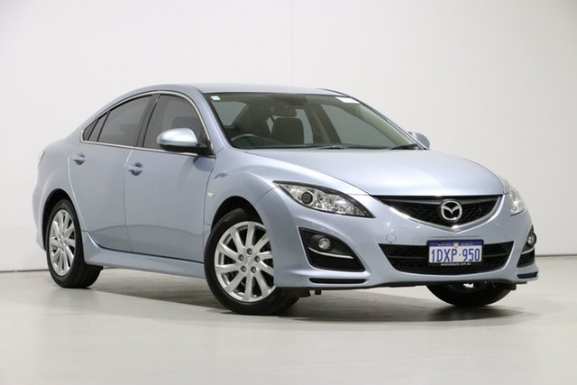 Used Mazda 6 GH MY11 Touring, 2012 Mazda 6 GH MY11 Touring Blue 5 Speed Auto Activematic Sedan