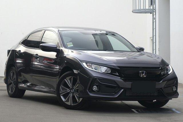 New Honda Civic 10th Gen MY20 VTi-L, 2020 Honda Civic 10th Gen MY20 VTi-L Modern Steel 1 Speed Constant Variable Sedan