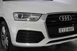 2016 Audi Q3 8U MY16 TFSI S Tronic Quattro Sport Glacier White 7 Speed Sports Automatic Dual Clutch