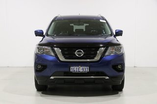 2017 Nissan Pathfinder R52 MY17 Series 2 ST-L (4x4) Blue Continuous Variable Wagon.