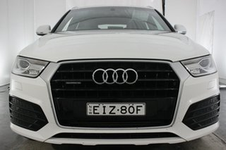 2016 Audi Q3 8U MY16 TFSI S Tronic Quattro Sport Glacier White 7 Speed Sports Automatic Dual Clutch.