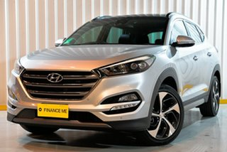 2016 Hyundai Tucson TLE Highlander AWD Silver 6 Speed Sports Automatic Wagon.