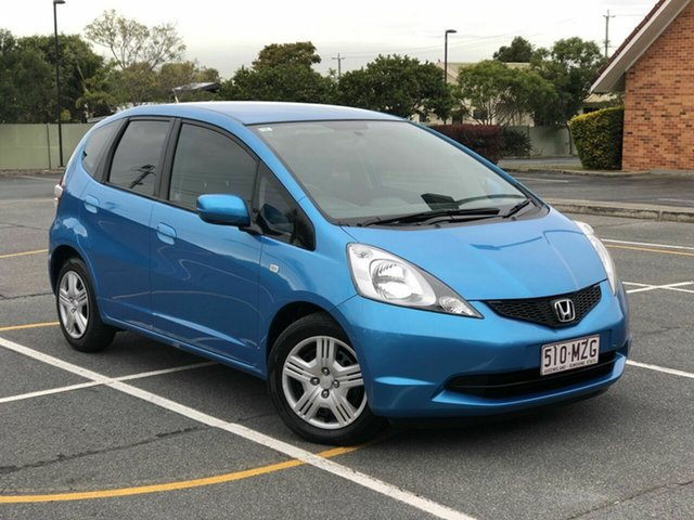 Used Honda Jazz GE MY10 VTi, 2010 Honda Jazz GE MY10 VTi Blue 5 Speed Automatic Hatchback