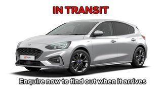 2019 Ford Focus SA 2020.25MY ST-Line Silver 8 Speed Automatic Hatchback.