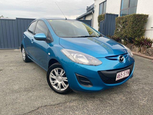 Used Mazda 2 DE10Y2 MY13 Neo, 2013 Mazda 2 DE10Y2 MY13 Neo Blue 5 Speed Manual Hatchback