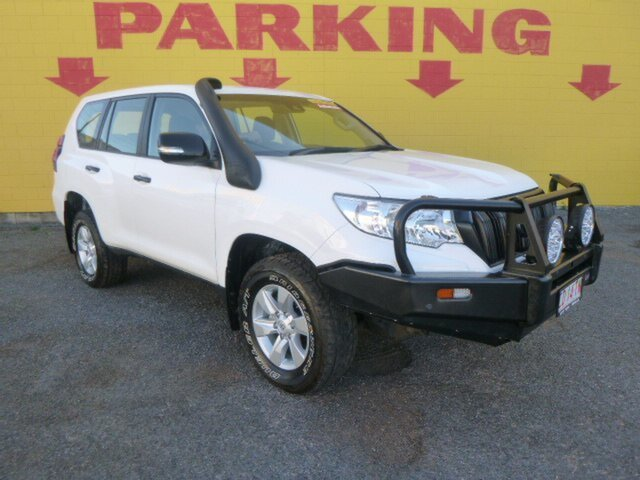 Used Toyota Landcruiser Prado GDJ150R GX, 2018 Toyota Landcruiser Prado GDJ150R GX White 6 Speed Sports Automatic Wagon