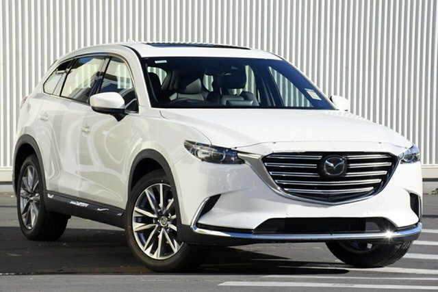 New Mazda CX-9 TC GT SKYACTIV-Drive Alexandria, 2021 Mazda CX-9 TC GT SKYACTIV-Drive Snowflake White 6 Speed Sports Automatic Wagon