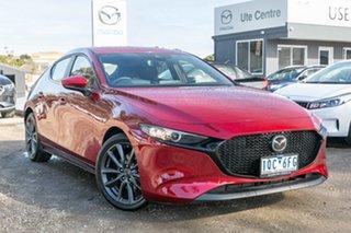 2019 Mazda 3 BP2HLA G25 SKYACTIV-Drive Evolve Red 6 Speed Sports Automatic Hatchback.