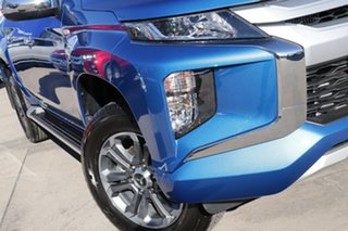 2020 Mitsubishi Triton MR MY20 GLX-R Double Cab Impulse Blue 6 Speed Sports Automatic Utility.