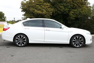 2015 Honda Accord 9th Gen MY15 Sport Hybrid White Orchid 1 Speed Constant Variable Sedan Hybrid