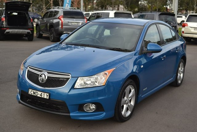 Used Holden Cruze JH Series II MY13 SRi-V, 2012 Holden Cruze JH Series II MY13 SRi-V Blue 6 Speed Sports Automatic Sedan