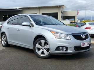 2014 Holden Cruze JH Series II MY14 Equipe Silver 5 Speed Manual Hatchback.