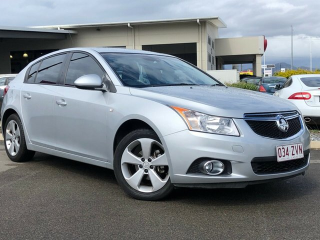 Used Holden Cruze JH Series II MY14 Equipe, 2014 Holden Cruze JH Series II MY14 Equipe Silver 5 Speed Manual Hatchback