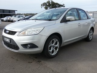 2011 Ford Focus LV Mk II LX Silver 4 Speed Sports Automatic Sedan.
