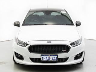 2016 Ford Falcon FG X XR6T White 6 Speed Auto Seq Sportshift Sedan.