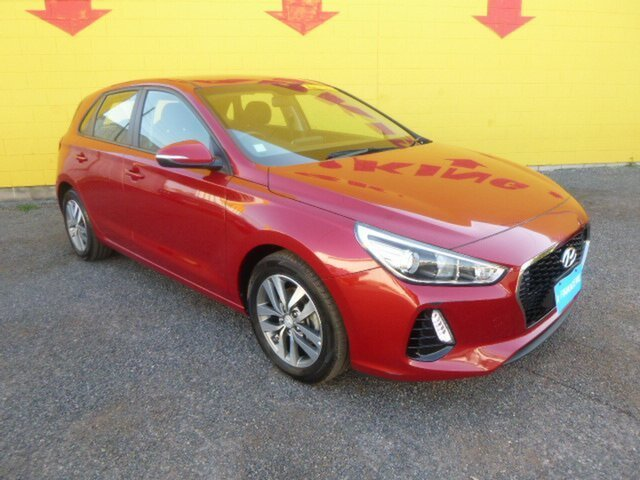 Used Hyundai i30 PD MY18 Active, 2018 Hyundai i30 PD MY18 Active Red 6 Speed Sports Automatic Hatchback