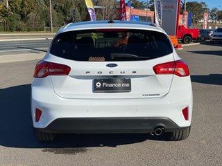 2018 Ford Focus LZ Titanium White 6 Speed Automatic Hatchback
