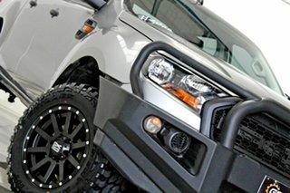2016 Ford Ranger PX MkII MY17 XL 3.2 (4x4) Grey 6 Speed Automatic Crew Cab Utility.