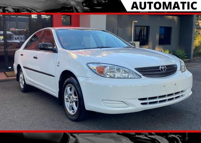 Used Toyota Camry MCV36R Altise, 2003 Toyota Camry MCV36R Altise White 4 Speed Automatic Sedan