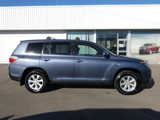 2013 Toyota Kluger GSU45R MY12 KX-R AWD Blue 5 Speed Sports Automatic Wagon
