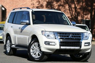 2020 Mitsubishi Pajero NX MY20 GLS Leather Option White 5 Speed Sports Automatic Wagon.
