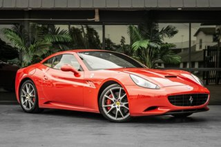 2009 Ferrari California F149 DCT Red 7 Speed Sports Automatic Dual Clutch Convertible.