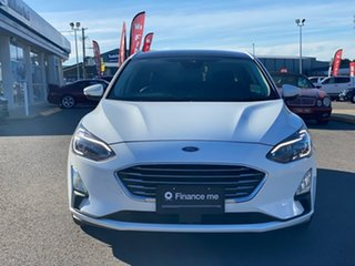 2018 Ford Focus LZ Titanium White 6 Speed Automatic Hatchback.