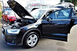 2012 Audi Q3 8U MY13 TDI S Tronic Quattro Black 7 Speed Sports Automatic Dual Clutch Wagon