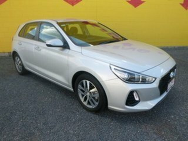 Used Hyundai i30 PD MY18 Active Winnellie, 2018 Hyundai i30 PD MY18 Active Silver 6 Speed Sports Automatic Hatchback