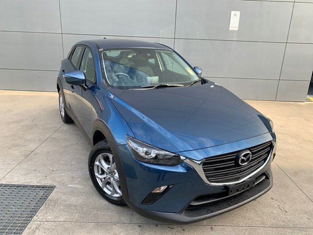 New Mazda CX-3 DK2W76 Maxx SKYACTIV-MT FWD Sport, 2020 Mazda CX-3 DK2W76 Maxx SKYACTIV-MT FWD Sport Eternal Blue 6 Speed Manual Wagon