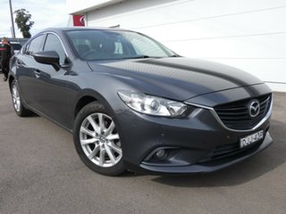 2013 Mazda 6 GJ1021 Touring SKYACTIV-Drive Grey 6 Speed Sports Automatic Sedan.