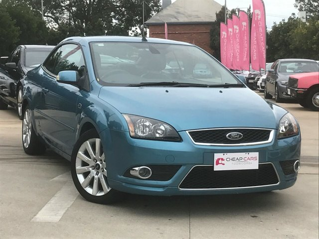 Used Ford Focus LT Coupe-Cabriolet, 2007 Ford Focus LT Coupe-Cabriolet Blue 5 Speed Manual Cabriolet