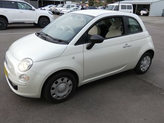 2014 Fiat 500 Series 1 POP White 5 Speed Manual Hatchback