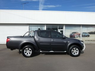 2011 Mitsubishi Triton MN MY12 GL-R Double Cab Grey 5 Speed Manual Utility