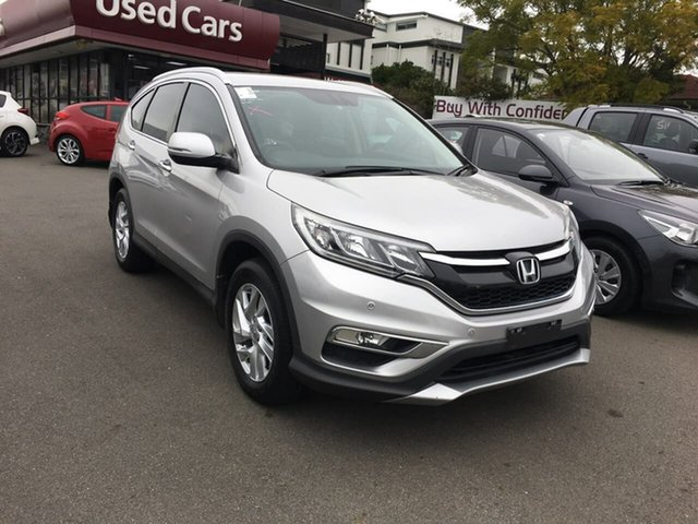 Used Honda CR-V RM Series II MY16 VTi-S 4WD, 2015 Honda CR-V RM Series II MY16 VTi-S 4WD Silver 5 Speed Sports Automatic Wagon