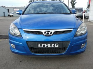 2011 Hyundai i30 FD MY11 SLX cw Wagon Blue 4 Speed Automatic Wagon