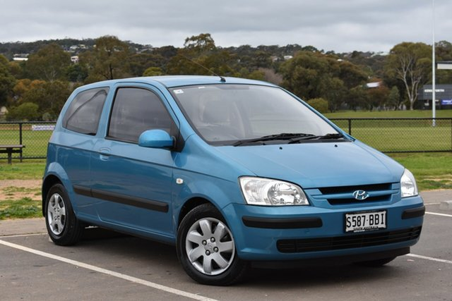 Used Hyundai Getz TB MY05 XL, 2005 Hyundai Getz TB MY05 XL Blue 4 Speed Automatic Hatchback
